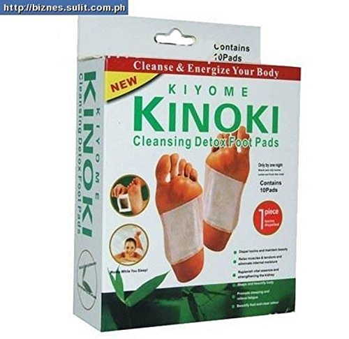 SystemsEleven Kinoki - Parches para desintoxicación de pies, toxinas corporales, pies, adelgazantes, hierbas