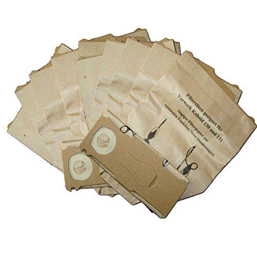 30 Staubsaugerbeutel geeignet für Vorwerk Kobold 130 131 131SC mit EB 350 oder EB 351