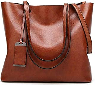 Women Handbag Shoulder Bag Tote Purse PU Leather Ladies Messenger Bag