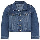 The Children's Place girls Denim Jacket, Azurewash, 10...