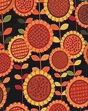 1 Yard Sunflower Daze Sunflower Fields by Greta Lynn from Kanvas Bernatex 100% Cotton Quilt Fabric 05668 12