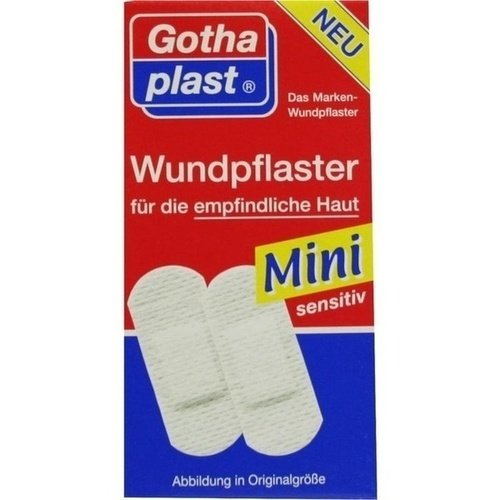 GOTHAPLAST Wundpfl.Mini sensitiv 4x1,7cm 20 St
