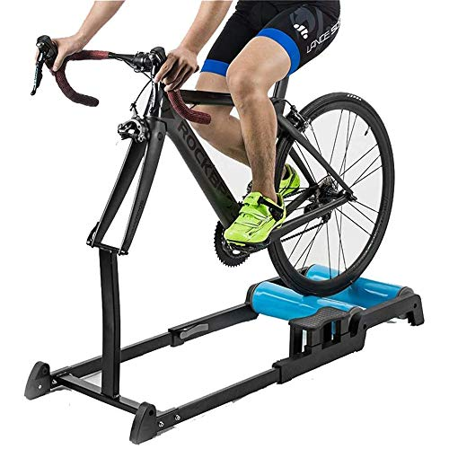 YUXINCAI Entrenador De Interior Rodillo De Entrenamiento Plegable Ajustable para Bicicleta De MontañA Entrenadores Resistencia Bicicleta Plegables Interior para Todas Estaciones