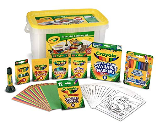Crayola Super Art Coloring Kit, Tub...