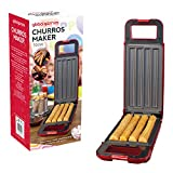 Global Gizmos 35529 Churros Maker, Plastic, Thermostatically Controlled 180° Rotary System