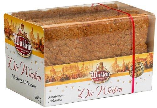 """Wicklein \""""Die Weißen\"""" Oblaten-Lebkuchen ohne Glasur 200g"""