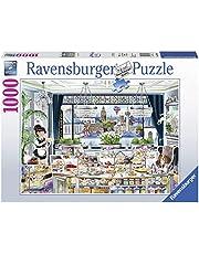 Ravensburger London Tea Party, collectie foto's en landschappen, puzzel voor volwassenen, hoogwaardige Ravensburger puzzel, London Puzzel