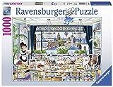 Ravensburger London Tea Party Puzzle 1000 Pz - Fantasy, Puzzle para adultos