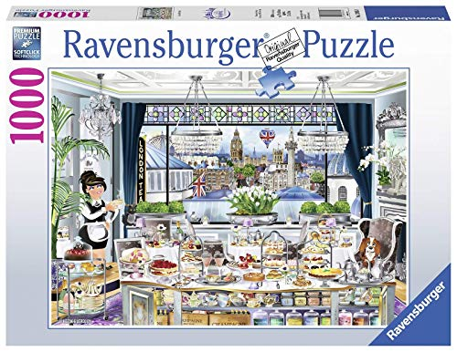 London Tea Party Puzzle 1000 Pz   Fantasy, Puzzle para adultos