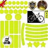 Sunshine smile Reflektoren Aufkleber Sticker,Reflektor Aufkleber Set,reflexfolie...