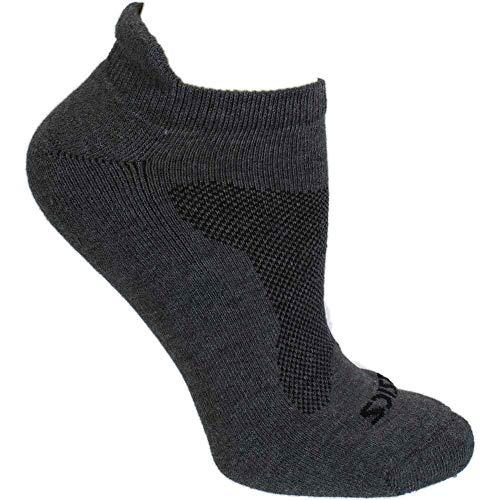 ASICS Mens Cushion Low Cut 3-Pack Running Athletic Socks Low Cut, Grey, L