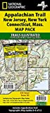 Appalachian Trail: New Jersey, New York, Connecticut, Massachusetts [Map Pack Bundle] (National Geographic Trails Illustrated Map)