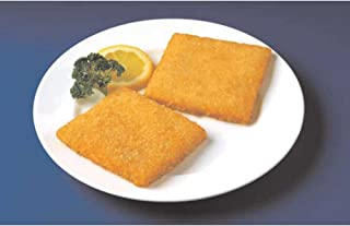 Japanese Bread Crumb Crispy Style Raw Breaded Square Haddock, 4 Ounce of 240 Pieces Per Bag, 6 Pound -- 10 per case.