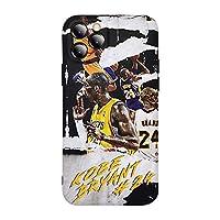 IPhone 7 / 8、7 / 8Plus、X/XS、XR、XS Max、11、11Pro、11ProMax用のKobe神戸電話ケース、レイカーズバスケットボールチームスターファッションソフトシリコン保護ケース 7/8