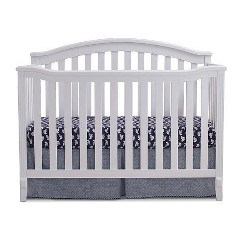 Sorelle Berkley 4-in-1 Convertible Crib - White