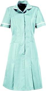 Aqua Marine White Piping//Trim Alexandra AL-HP297AM-96U Series AL-HP297 Zip Front Dress Unhemmed Size 14 Plain 96 cm Chest
