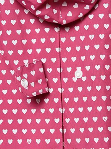 [コドモビームス]レインコートこどもビームス/ベビー用品/b柄ランドセルコート(90~130cm)キッズHeartPINK110