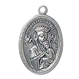 Blessed By Pope Francis Perpetual Help St Gerardイタリアいぶし仕上げMedal