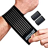 2 Pack Tennis Wrist Support,Wrist Bands for Working...