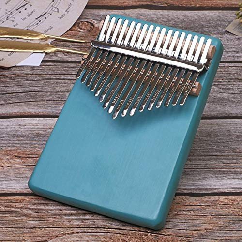 HYL0 Daumenklavier 17-Ton Kalimba Tragbares Mini-Finger Klavier Anfänger Musikinstrument Geschenke Fünf Finger Klavier ZZBiao (Color : A)