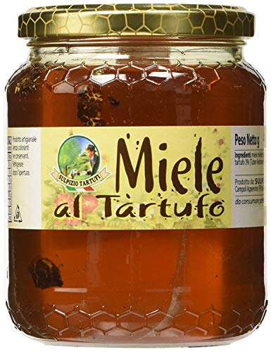 Sulpizio Tartufi - Miel polifloral con Trufa - 450gr - Producto original en Italia