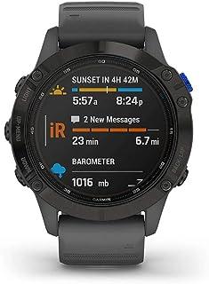 Garmin fēnix 6 Pro Solar, Reloj GPS Multideporte con energía Solar, características y Datos de Entrenamiento avanzado 010-...