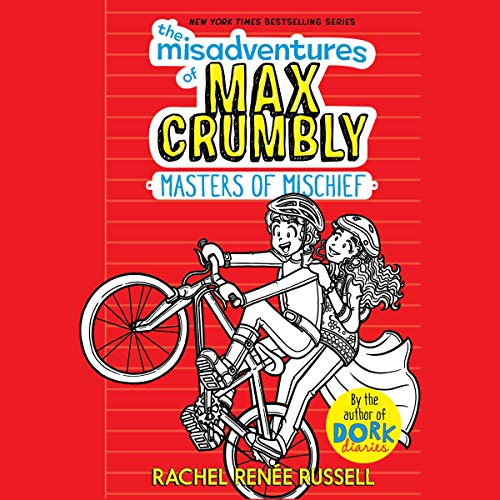 The Misadventures of Max Crumbly 3 audiobook cover art