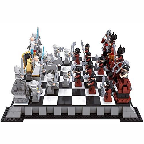 ShenMiDeTieChui Ajedrez, Rompecabezas Compuesto, ajedrez, Regalo de cumpleaños para niños. (Color : A)