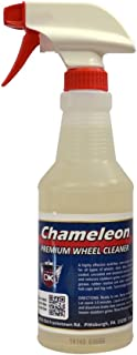 Detail King Chameleon Car Rim & Wheel Cleaner Spray for All Wheels (Aluminum, Chrome, and More) Scrub-Less, pH Balanced, A...