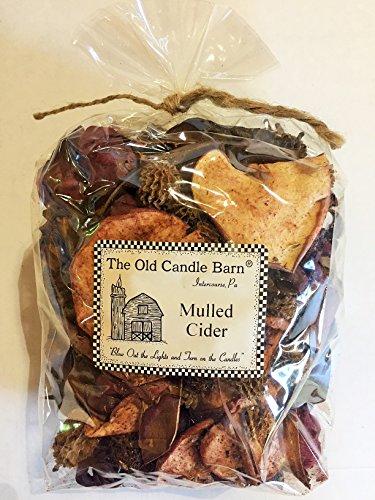 Old Candle Barn Mulled Cider vorsingen Große Tasche–Perfekt Fall Dekoration oder Schale Filler–Beautiful Autumn Apple Duft