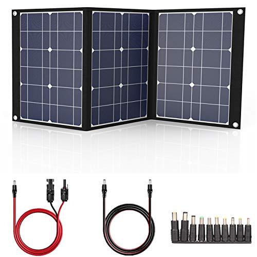 suaoki 100W Solarmodule solar Ladegerät Power Bank MPPT TIR-C USB Handy Auto