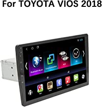 XZZTX 9 Inch Android 8.1 Car GPS Navigation Head Unit for Toyota VIOS 2018 Touchscreen Stereo Car Radio Bluetooth WiFi Mirror Link Steering Wheel Control,1+16gwifi