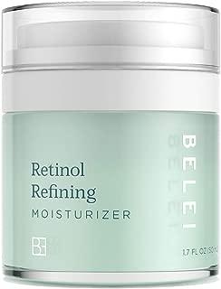 Belei Retinol Vitamin A Refining Moisturizer, Fragrance Free, Paraben Free, 1.7 Fluid Ounce (50 mL)