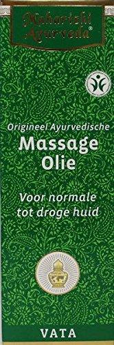 Maharishi Ayurveda Vata Massageöl, 200 ml, kontrolliert biologisch, 100% natürlich