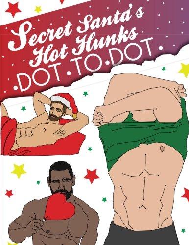 Secret Santa's Hot Hunks Dot To Dot