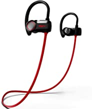 Bluetooth Headphones Wireless Earbuds with CVC6.0 Noise Cancelling Mic, HSPRO IPX7 Waterproof Sports Earphones for Running Workout Gym, 10 Hours Playtime