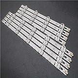 Juego de 8 piezas (4A+4B) barra de retroiluminación LED para TV HC390DUN-VCFP1-21X 39LN5400 39LA6200 LG innotek Pola 2.0 POLA2.0 39' tipo A/B