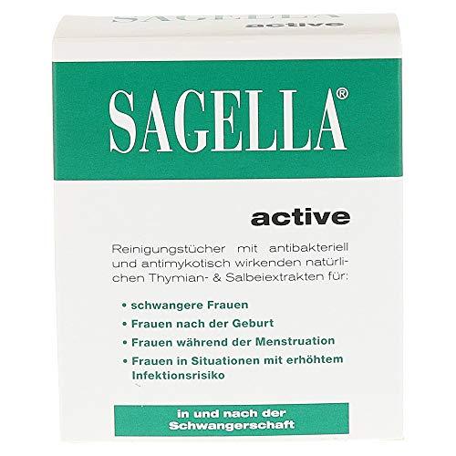 SAGELLA active Reinigungstücher 10 St
