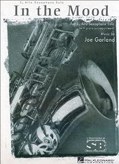 In The Mood E Flat Alto Saxophone With Piano Accompaniment Composer Joe Garland