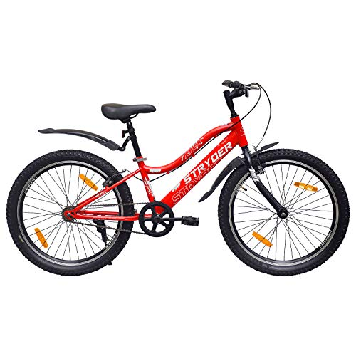 Tata Cyclo India Stryder XPLOR Kid's Speed Person Height 4 to 5.4 Feet 24 x 2.35 Heavy Model Tyre Road Bicycle ( Red, 8-13 Years )