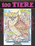 Malbücher für Erwachsene Mandala - Dickes Papier - 100 Tiere