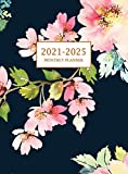 2021-2025 Monthly Planner Hardcover: Large Five Year Planner with Floral Cover (Volume 3)