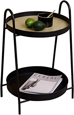 Coffee Tables Side Table Coffee Table Home Living Room Small Coffee Table Sofa Side Round Tea Table Wrought Iron Corner Side