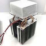 12V Peltier termoeléctrico Semiconductor Enfriador de enfriamiento rápido Taza refrigeración Tablet Bebidas Set de refrigeración