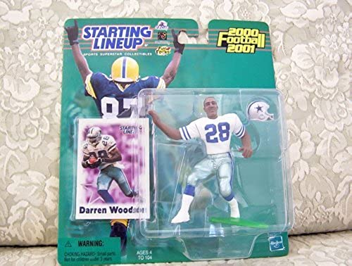 2000 NFL Starting Lineup Hobby Edition - Darren Woodson - Dallas Cowboys by Starting Line Up
