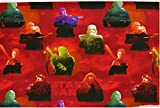 Jersey Disney Star Wars rot bunt Digitaldruck 1,5m Breite