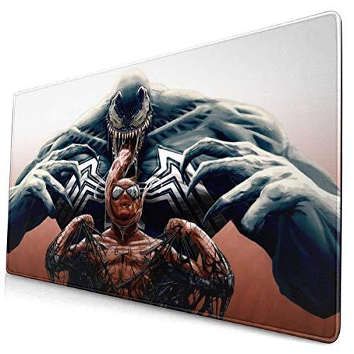 et Spiderman - Alfombrilla de ratón rectangular de goma antideslizante y deportiva, gran alfombrilla de ratón para juegos, para ordenador portátil y PC de 15,6 x 29,5 pulgadas