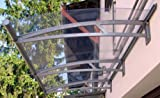 Papillon, Pensilina tettoia Struttura in alluminio 270 x 95 cm