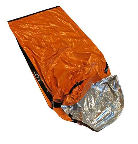 Besser Outdoor Notfall Schlafsack Thermo Bivvy–Verwendung als Not Bivy Tasche, Survival Schlafsack, Mylar Rettungsdecke, Survival Gear