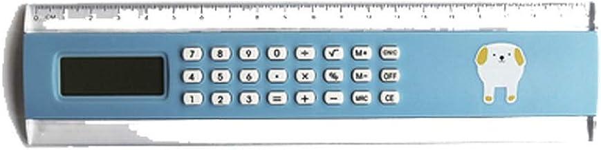 Calculator,8-Digit Widescreen Display Calculator, Solar,Office Business Calculator, (Color : Blue)